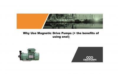 Why use Magnetic Drive (mag drive) Pumps?