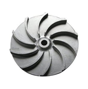 a image of a semi open impeller