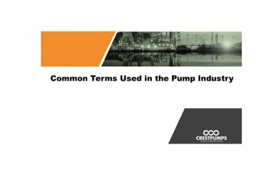 Common Terms Used In The Pump Industry