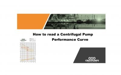 How to read a Centrifugal Pump Performance Curve